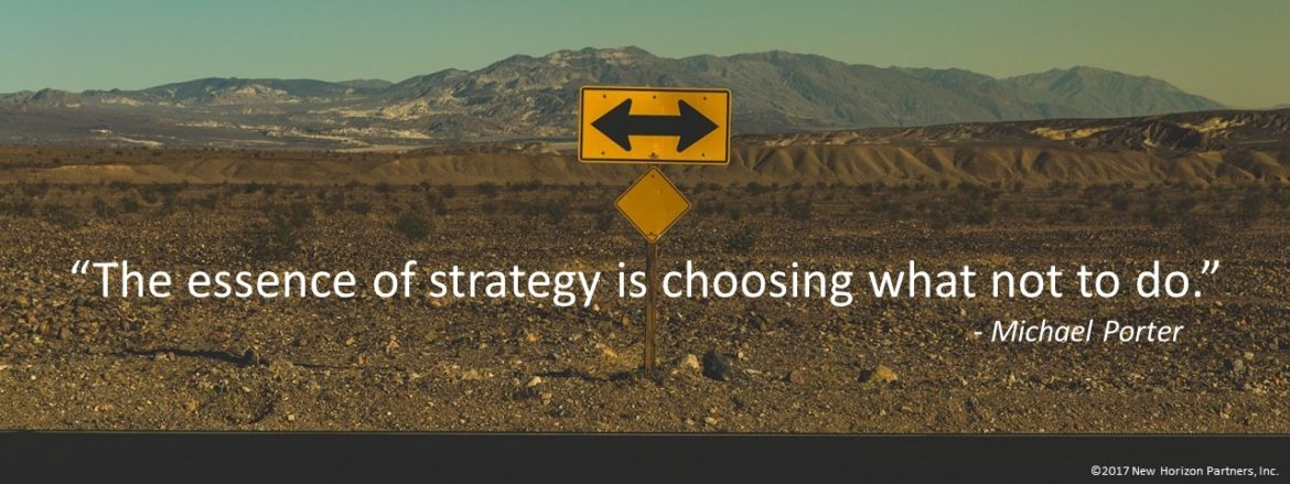 Strategy decisions Ken Vaughan