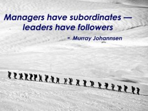 leaders and managers Ken Vaughan Ohio