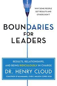 Boundaries for Leaders New Horizon Partners